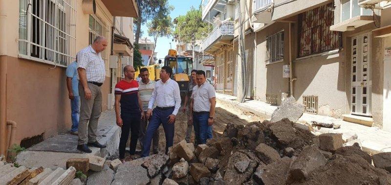 Nazilli Belediyesi yollarda seferberlik başlattı