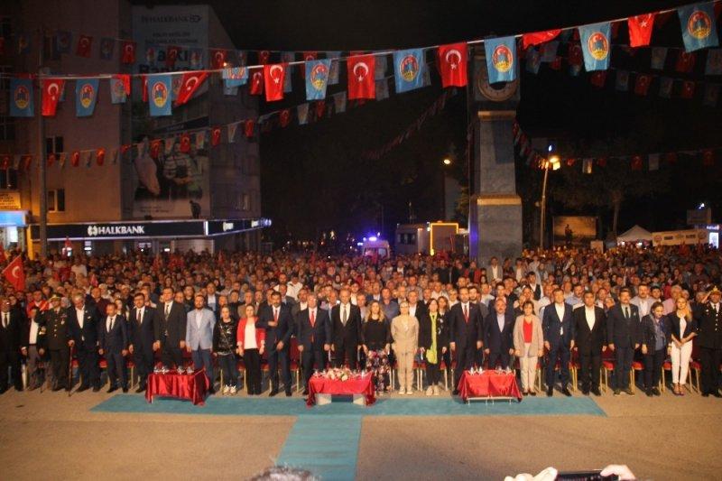 Çankırı'da 15 Temmuz Milli İrade ve Demokrasi Bayramı kutlandı