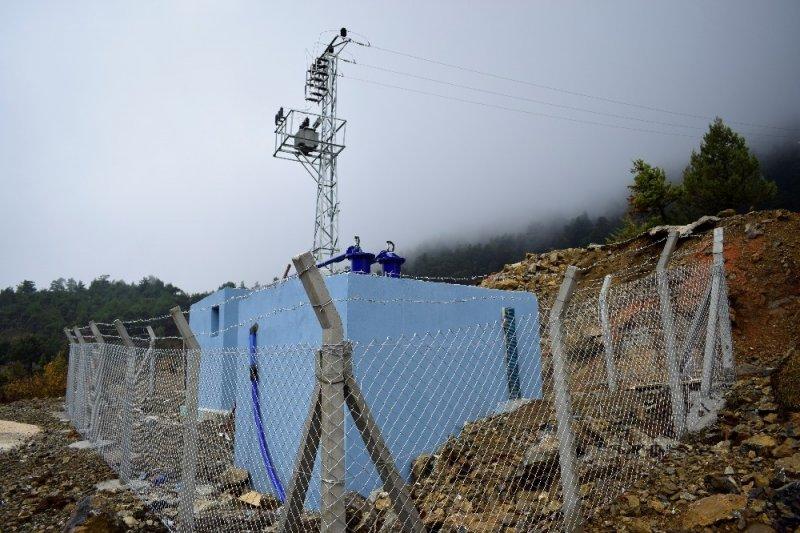 MESKİ, Gülnar'da içme suyu depolarının bakım ve onarımını yaptı