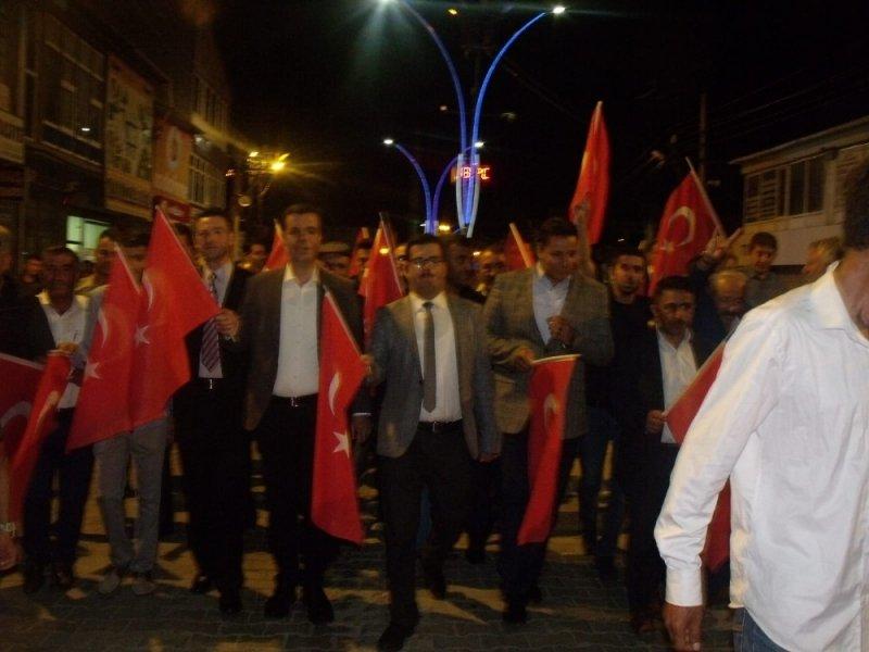 Özalp'ta Demokrasi ve Milli Birlik Günü