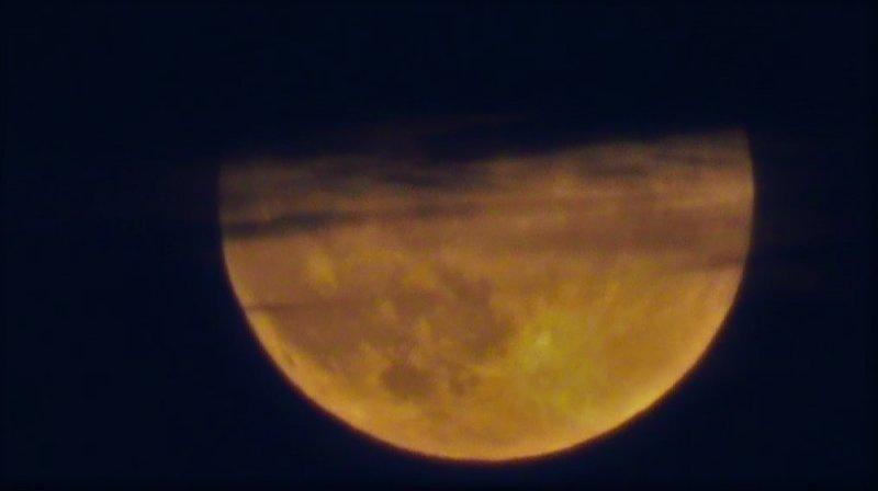 Tekirdağ'da Parçalı Ay Tutulması