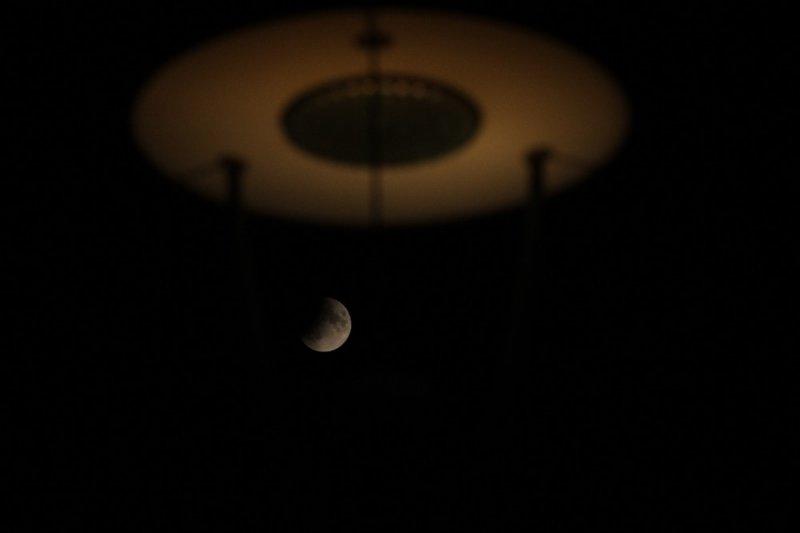 Eskişehir'de 'Parçalı Ay Tutulması' manzaraları