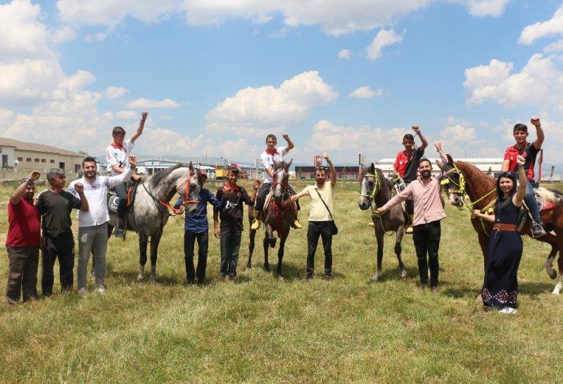 Erzurum Korkut Ata Atlı Spor Kulubü'nden çocuk istismarı ile mücadeleye destek