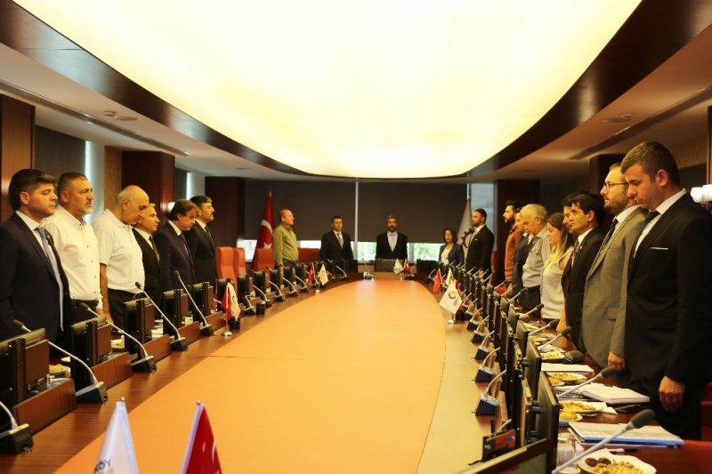 Çerkezköy TSO Temmuz ayı Olağan Meclis Toplantısı