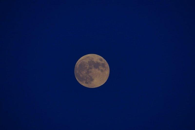 Kapadokya'da muhteşem ay tutulması