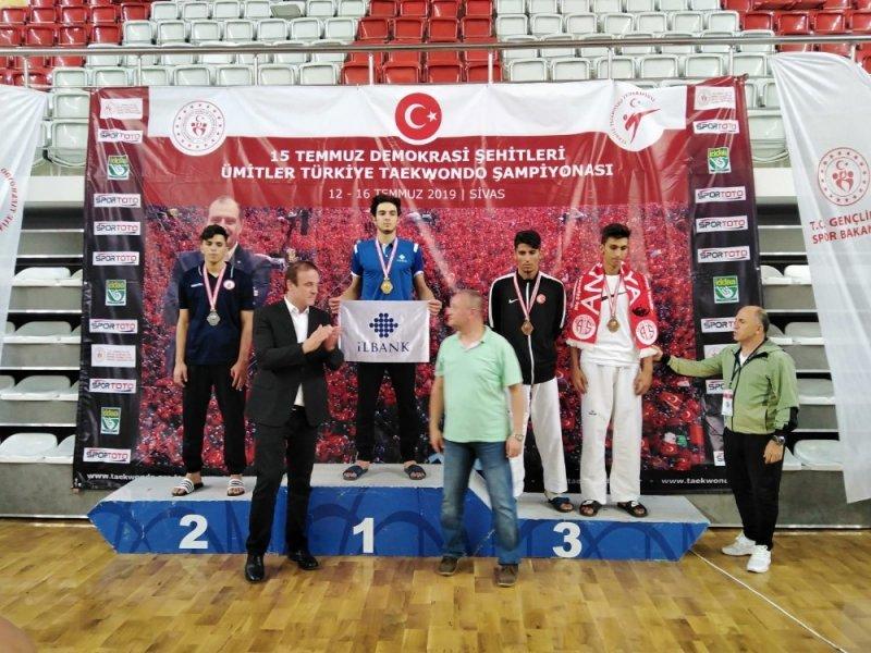 Şahinbeyli sporcu Gazaintep'in gururu oldu