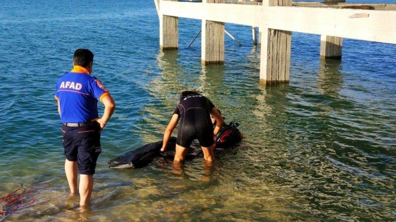 Yüzmek için baraja giren genç boğuldu