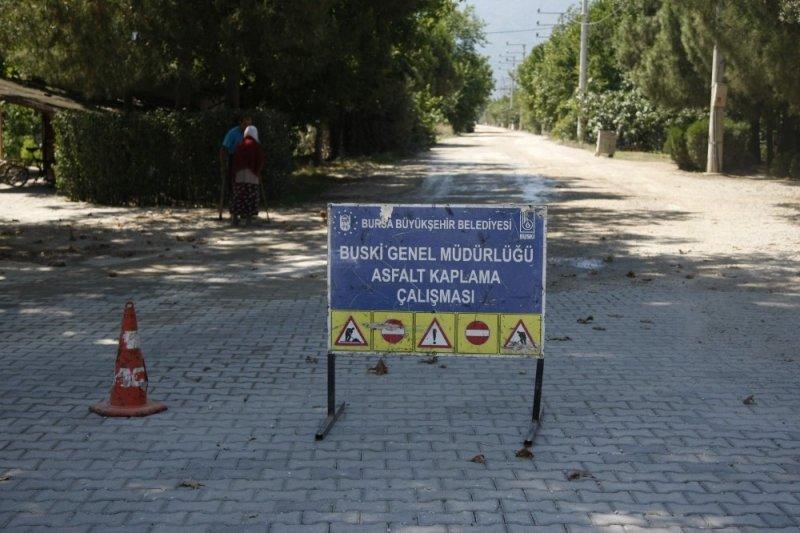 Örnekköy'de asfalt çalışmaları başladı