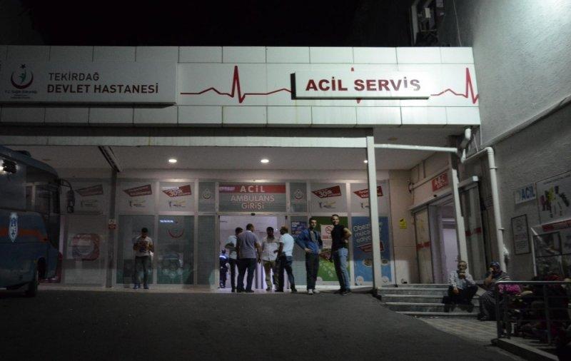 Tekirdağ'da 45 kişi dönerden zehirlendi iddiası