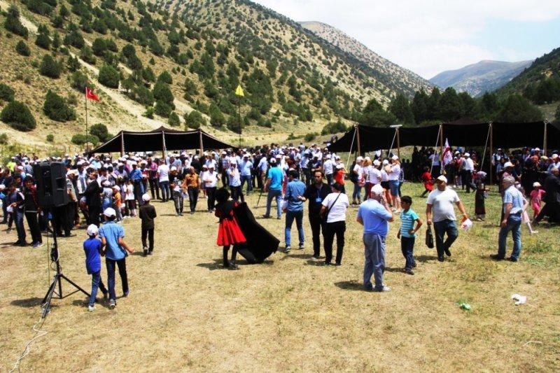 Masat Yaylası uluslararası şölene ev sahipliği yaptı