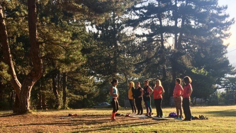 Doğa sporları kulüpleri Küçükelmalı Tabiat Parkı'nda buluştu