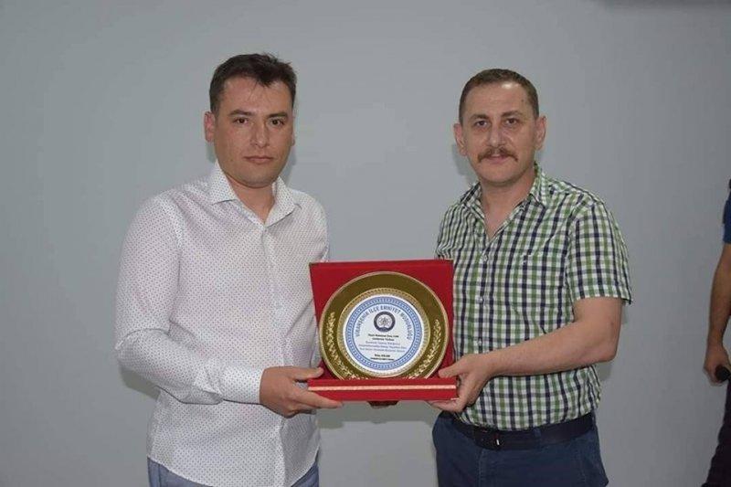 Viranşehir Jandarma Komutanı Ramazan Onur Can ilçeye veda etti