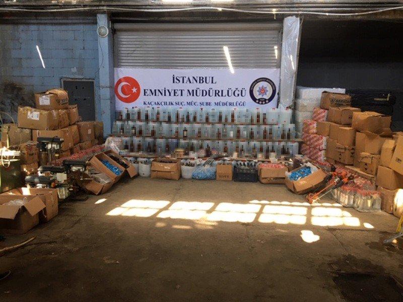 İstanbul'da sahte içki operasyonu: 19 şüpheli yakalandı