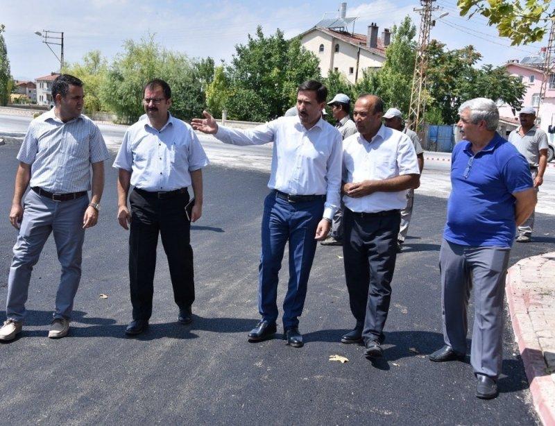 Karatay'da asfalt çalışmaları