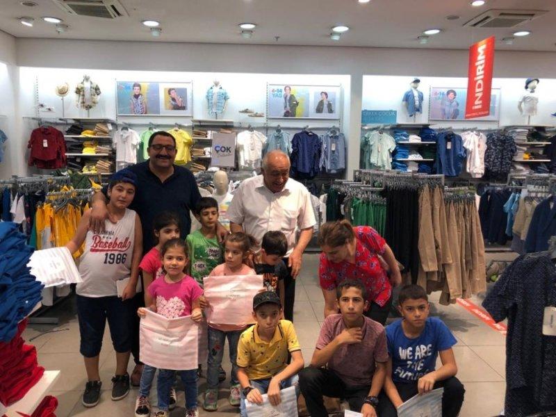 STSO sevgi evlerinde bulunan çocukları sevindirdi