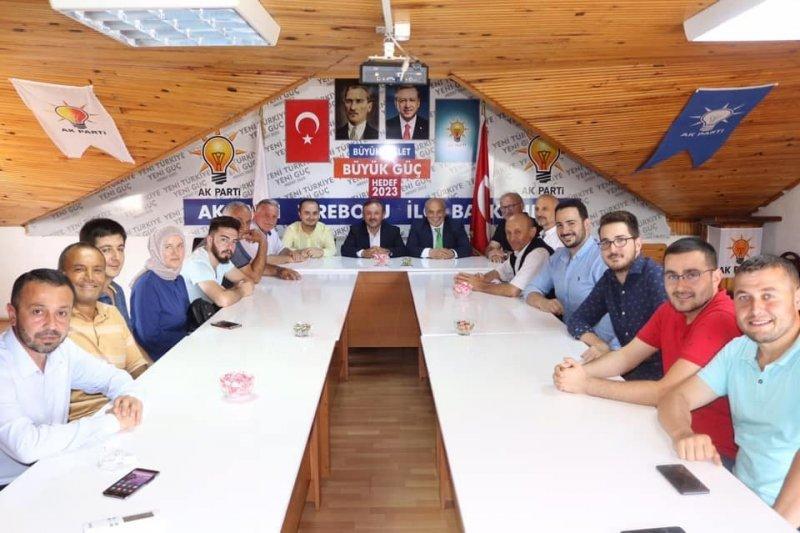 AK Parti'li Öztürk hemşehrileriyle buluştu