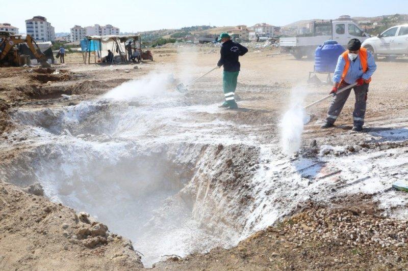 Elazığ'da hayvan satış ve kesim yerleri temizlendi