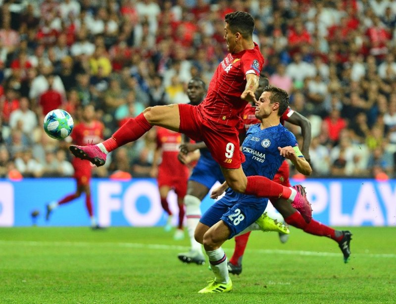 UEFA Süper Kupa: Liverpool: 1 - Chelsea: 1 (90 dakika sonucu)