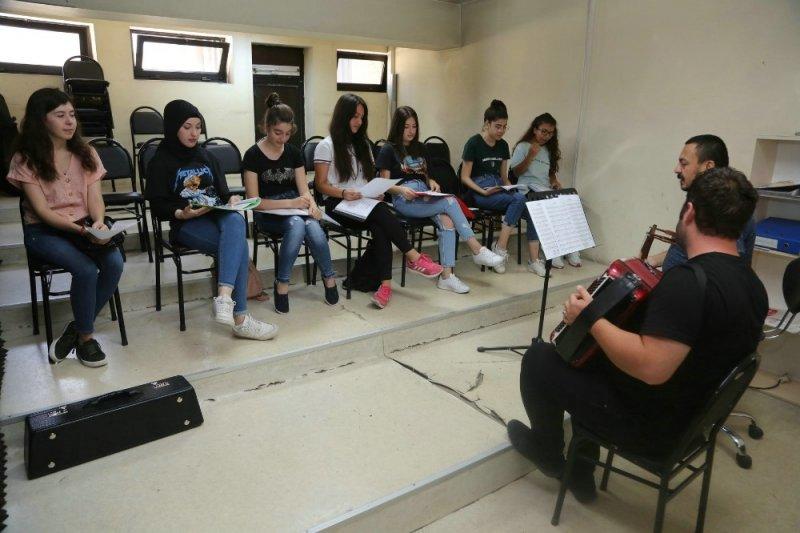 Odunpazarı Belediyesinin ilk Gençlik Korosu kuruldu