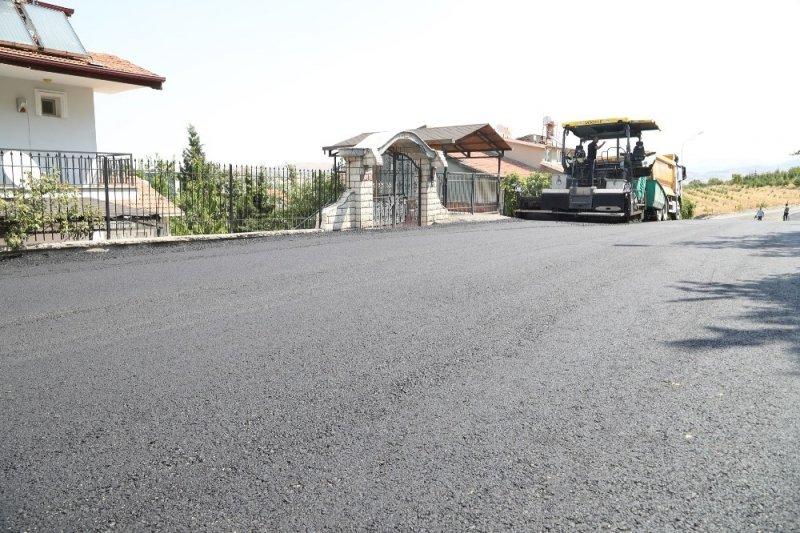 Battalgazi Belediyesi asfalt çalışmalarını sürdürüyor