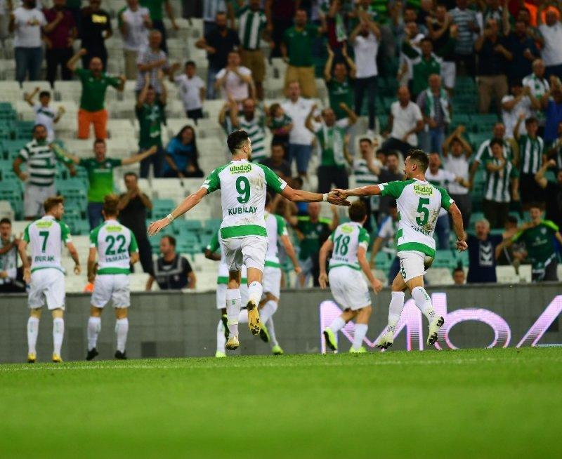 TFF 1. Lig: Bursaspor: 2 - Akhisarspor: 1