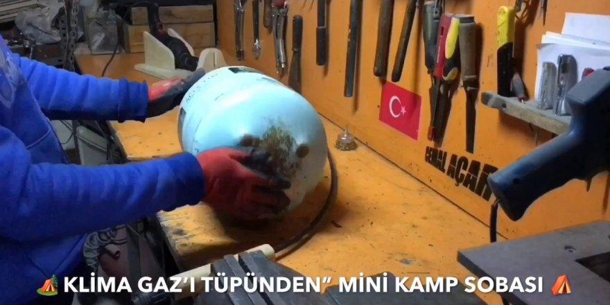 Mini  Kamp Sobası Yapımı