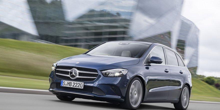 Yeni Mercedes B Serisi Test Sürüşü