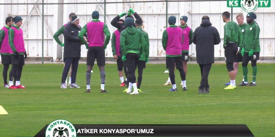 Akhisarspor maçı hazırlıkları devam ediyor