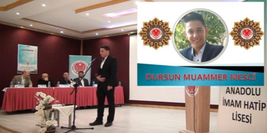 Genç Bilaller Ezan Okuma Yarışması Konya 1. Bölge Finali