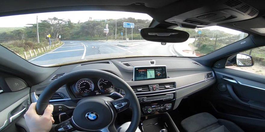 BMW X2 test sürüşü