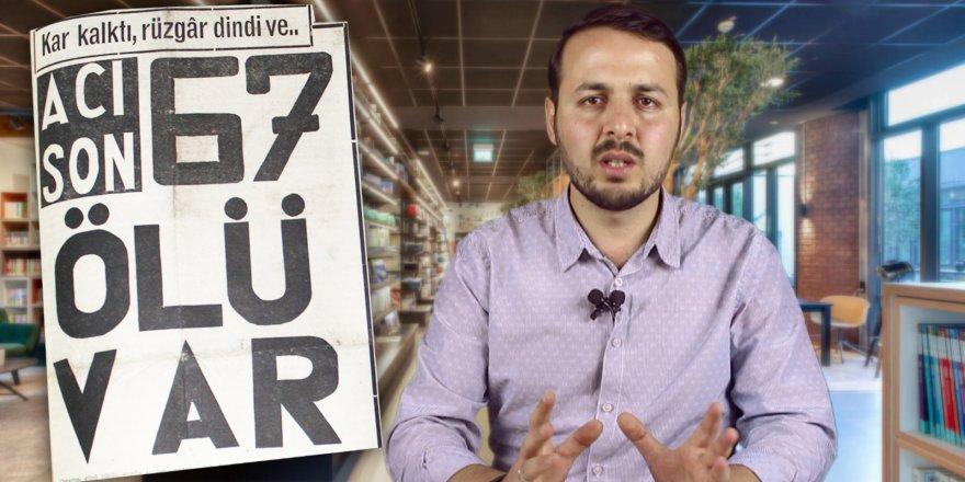 """Konya'da 67 kişinin öldüğü """"1971 kışı"""" belgeseli"""