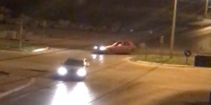 Konya'da drift terörü estirdiler