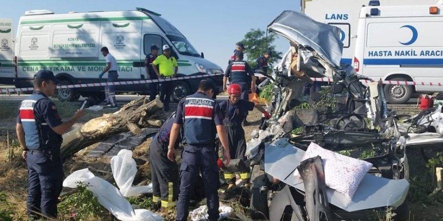 Kulu 'da trafik kazası: 3 Kişi Hayatını Kaybetti
