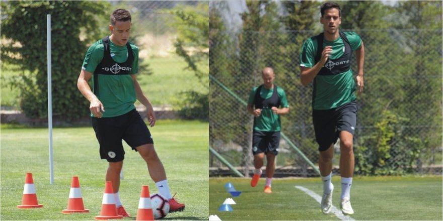 Konyasporlu futbolcular yeni sezona hazırlanıyor