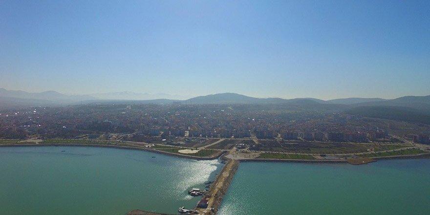 Beyşehir Gölü havadan çekim