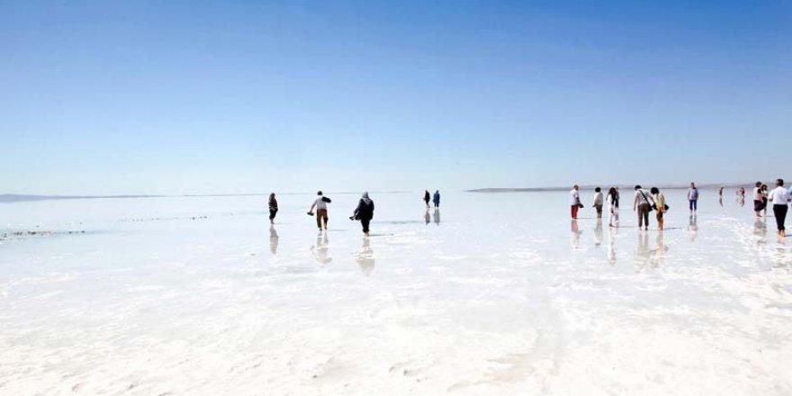 Tuz Gölü havadan çekim