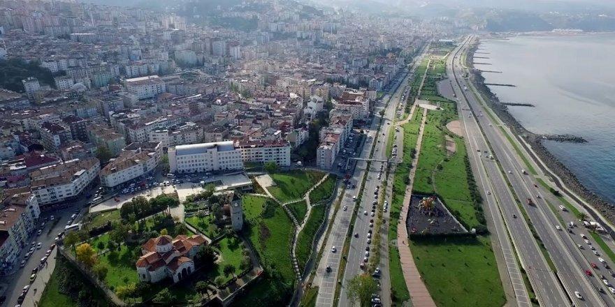 Trabzon şehir merkezi