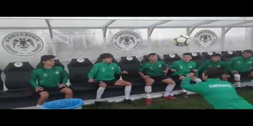 Konyaspor'dan kafa topu şovu