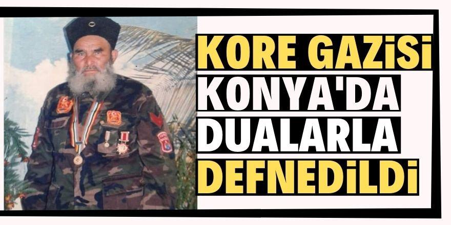 Kore Gazisi Mehmet Kaya'ya son görev