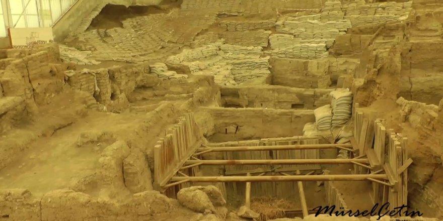 Dünyanın ilk yerleşim kenti: Çatalhöyük