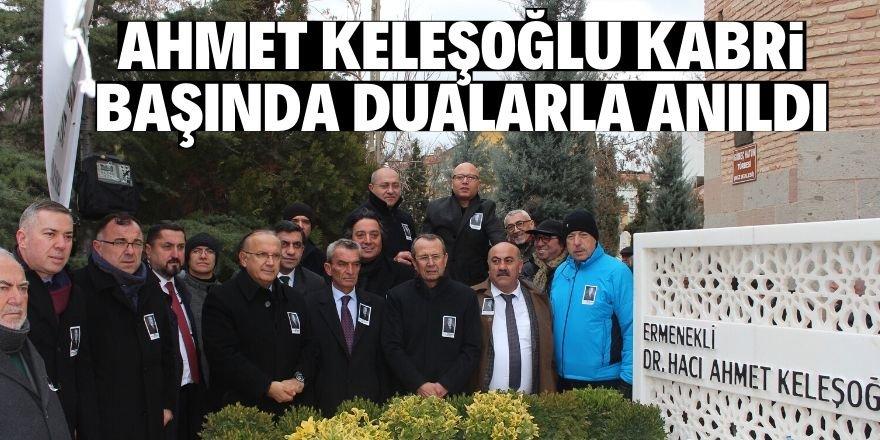 Hayırsever işadamı Dr. Ahmet Keleşoğlu anıldı