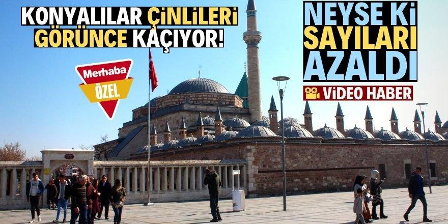 Konya'da Çinli turist sayısı azaldı