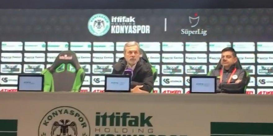 Aykut Kocaman'ın Konyaspor'dan ayrılmadan önceki son açıklamaları