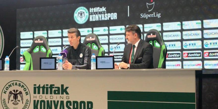 Konyaspor Teknik Direktörü Bülent Korkmaz maçı değerlendirdi