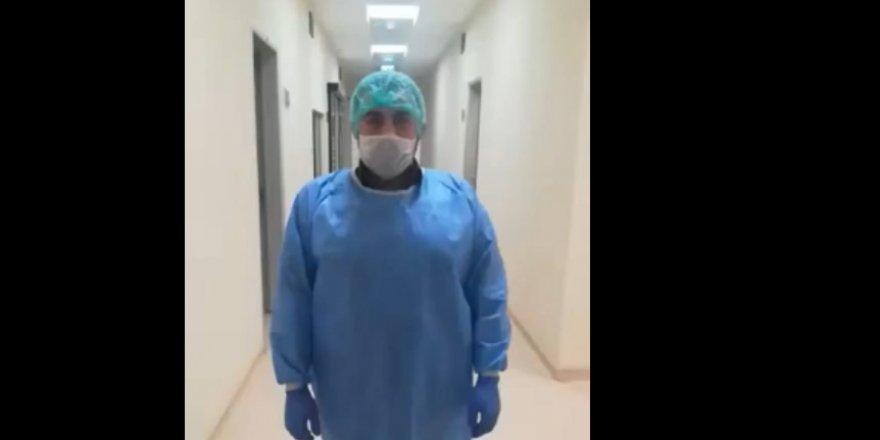 Sağlık çalışanlarından maske uyarısı