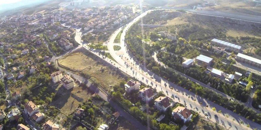Konya havadan çekim - panoramik manzara