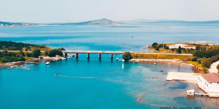 AYVALIK Havadan Drone Çekimi ( Cunda, Boğaziçi köprüsü)