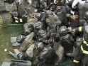 Silivri'de askerlerin ezilme tehlikesi geçirdiği anlar