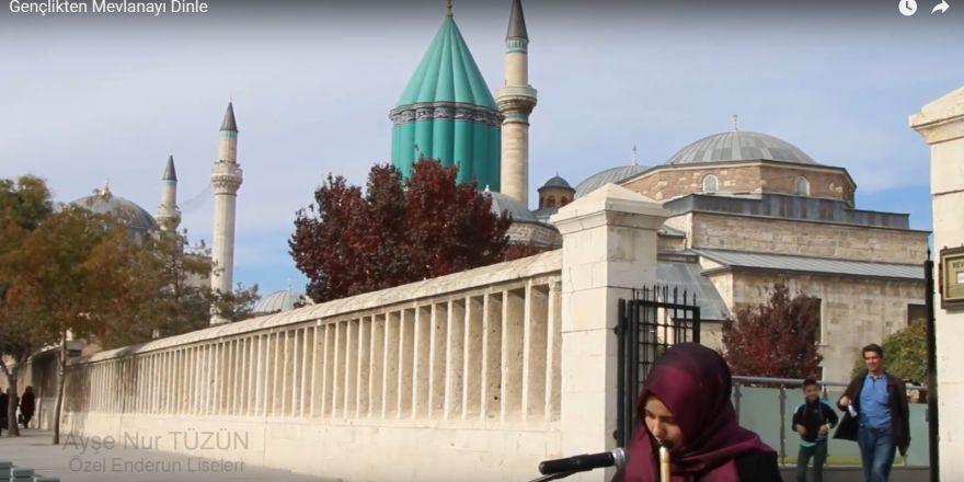 Öğrencilerden Mevlana Haftası'na özel video