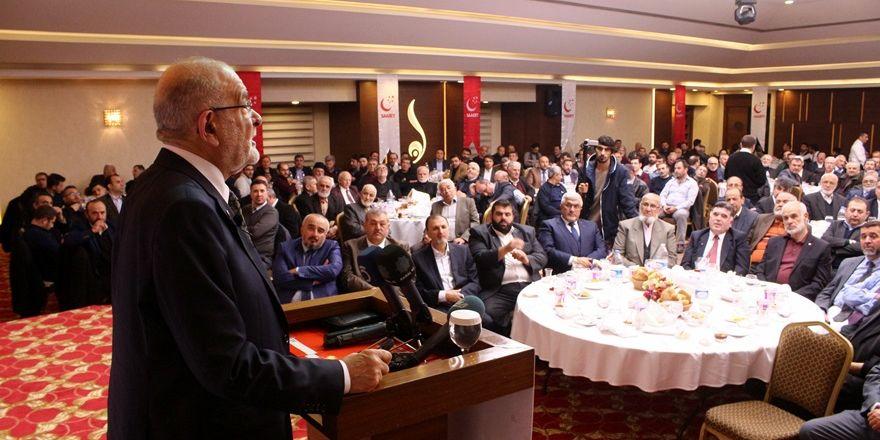 Temel Karamollaoğlu Konya'da sanayiciler ve STK temsilcileri ile buluştu